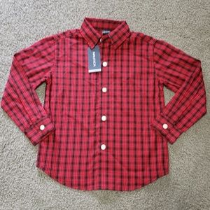 Nautica Button Down Shirt 4T with tags.